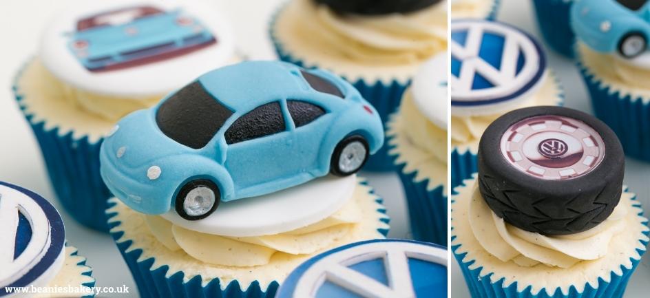 Car Cupcakes by Beanie's Bakery