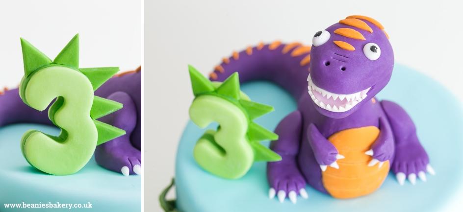 Dinosaur Birthday Cake by Beanie's Bakery