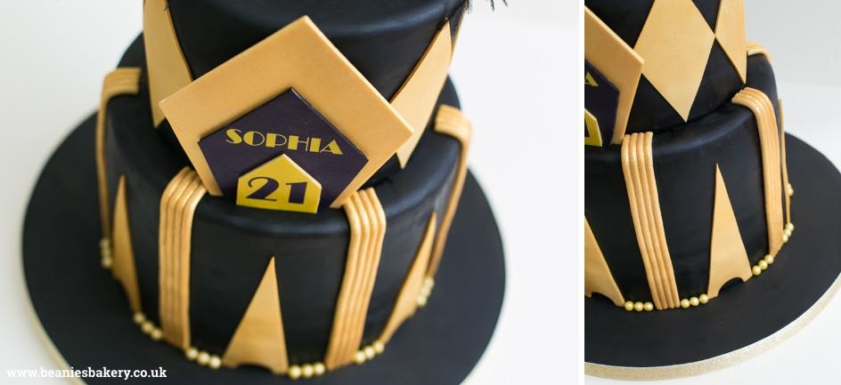 Gatsby Cake by Beanie's Bakery